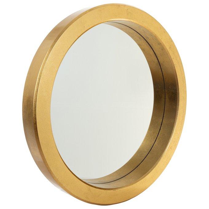 Зеркало настенное Сан-Ремо золотого цвета