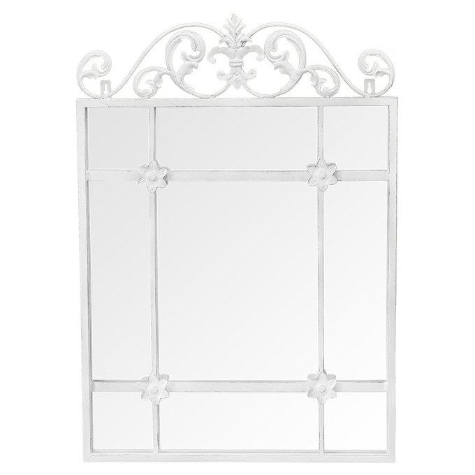 Настенное зеркало Равель в металлической раме