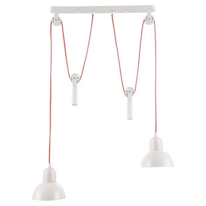 Подвесной светильник Tanaina  белого цвета