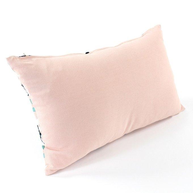 Чехол для подушки Lazy flower цвета пыльной розы