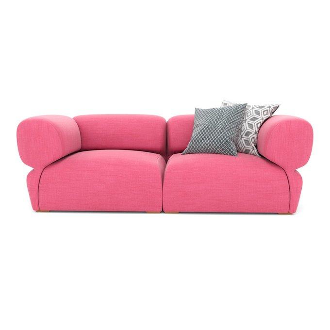 Диван двухместный Fly розового цвета