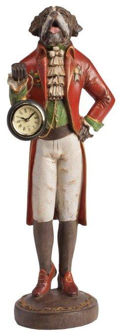 Предмет декора с часами St. Bernard