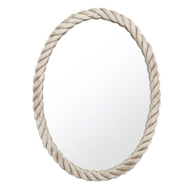 Зеркало в белом канате