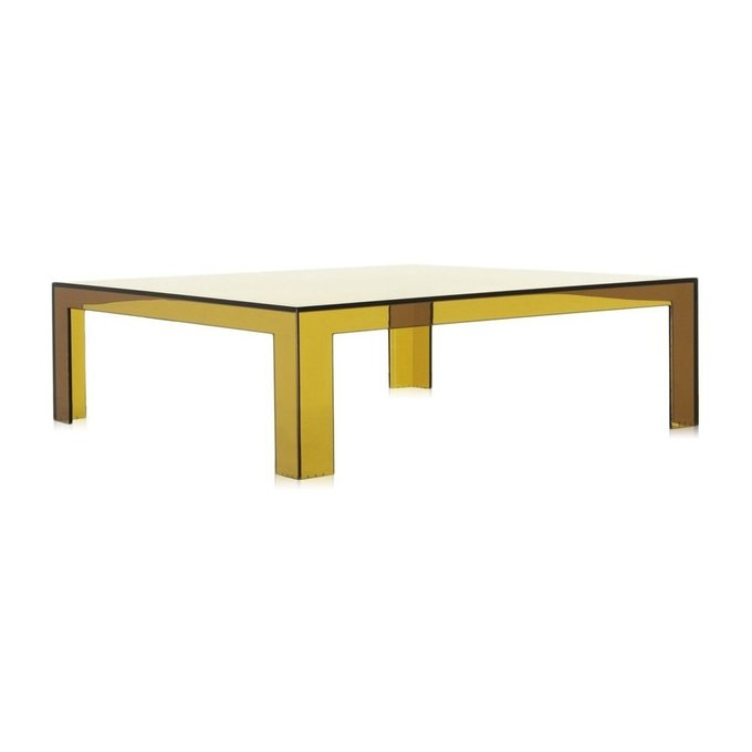 Стол журнальный Invisible Table зеленого цвета