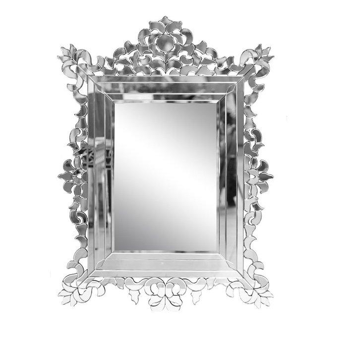 Зеркало в стеклянной раме