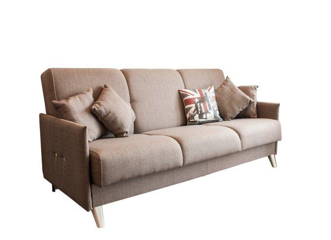 Диван-кровать Scandi серо-коричневого цвета