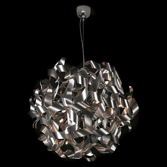 Подвесной светильник Illuminati из множества металлических стружек-завитков