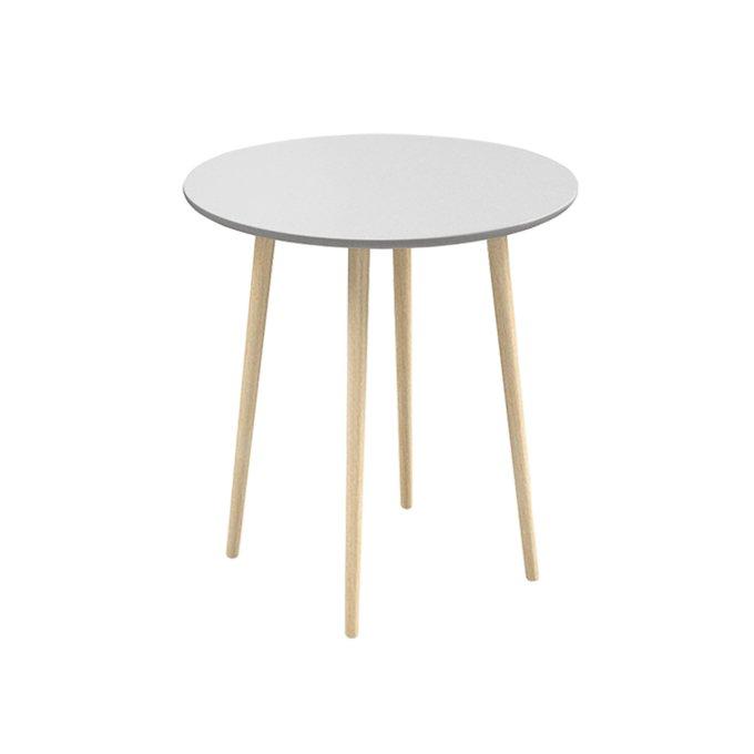 Обеденный стол Спутник с белой столешницей
