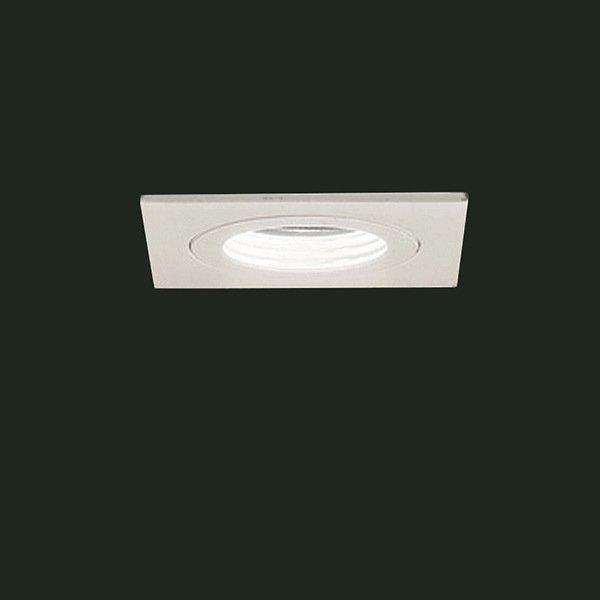 Встраиваемый светильник Leucos BIANCO из матового алюминия