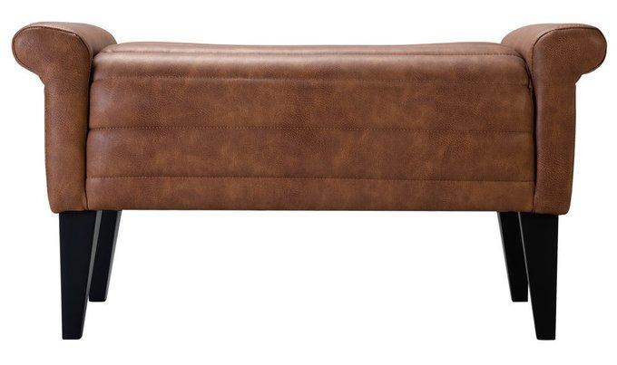 Пуф Loft Аляска Браун коричневого цвета