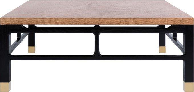 Стол журнальный Fabris с деревянной столешницей