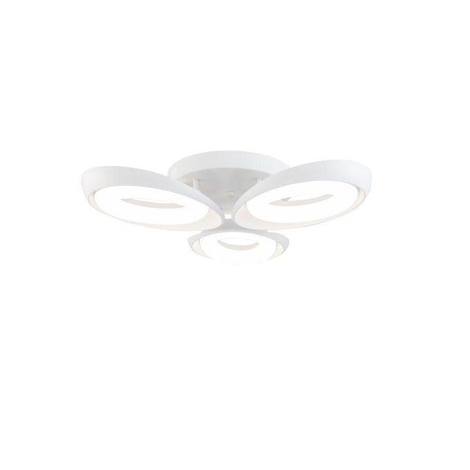 Потолочная светодиодная люстра Elena белого цвета