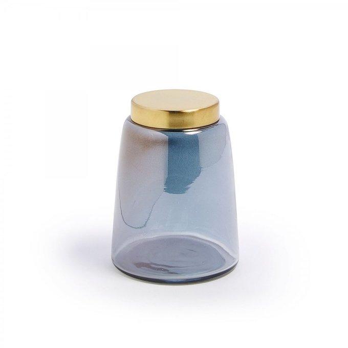 Декоративная банка Crayte из цветного стекла