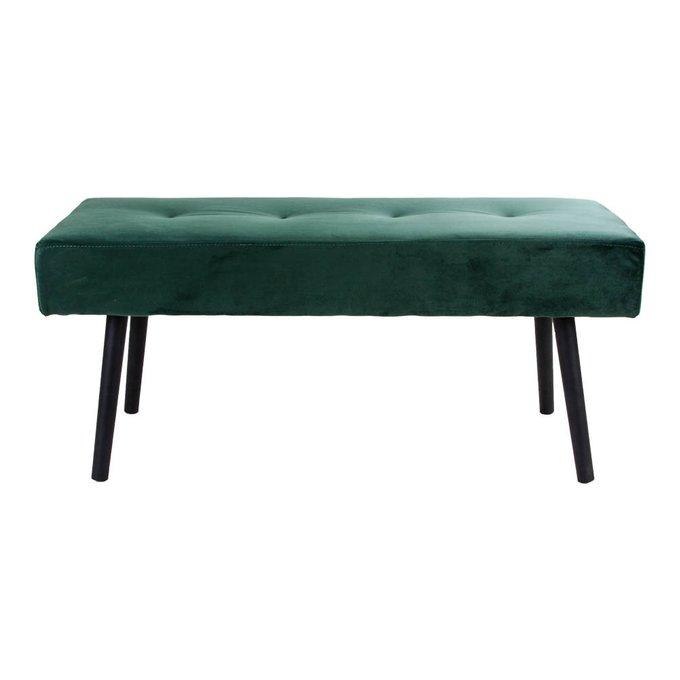 Банкетка Skiby зеленого цвета