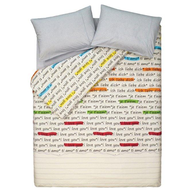 Комплект постельного белья LOVE GREY FAMILY