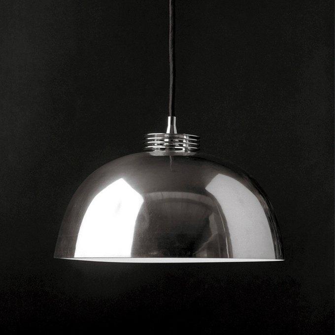 Подвесной светильник Catellani & Smith AGO с плафоном из металла стального цвета