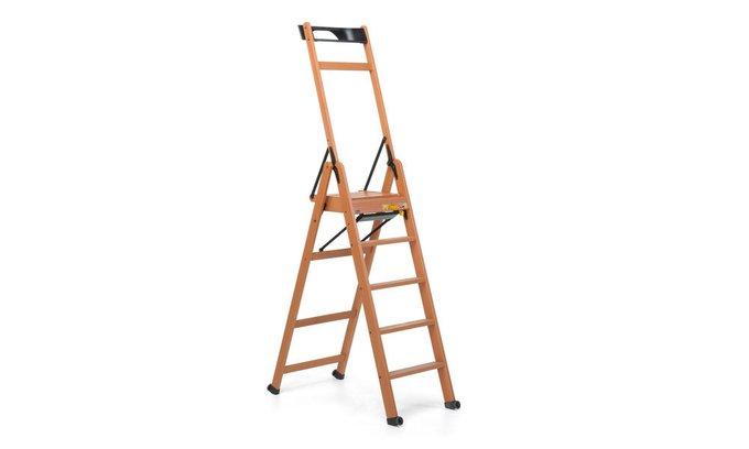 Лестница-стремянка на пять ступеней Lascala 5 noce цвет орех