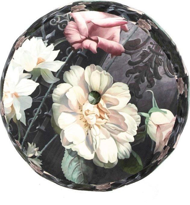 Пуф с цветочным принтом