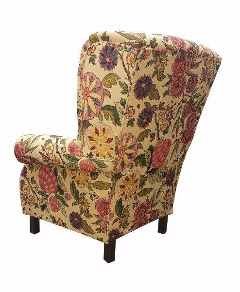 Кресло Жарден желтого цвета