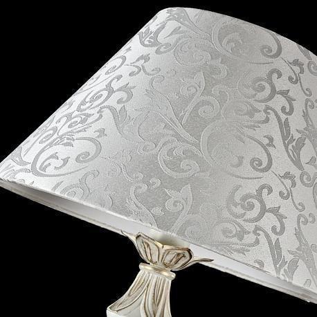 Торшер Monile из металла белого цвета