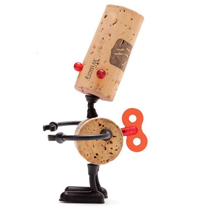 Декор для винной пробки Monkey Business robots люк