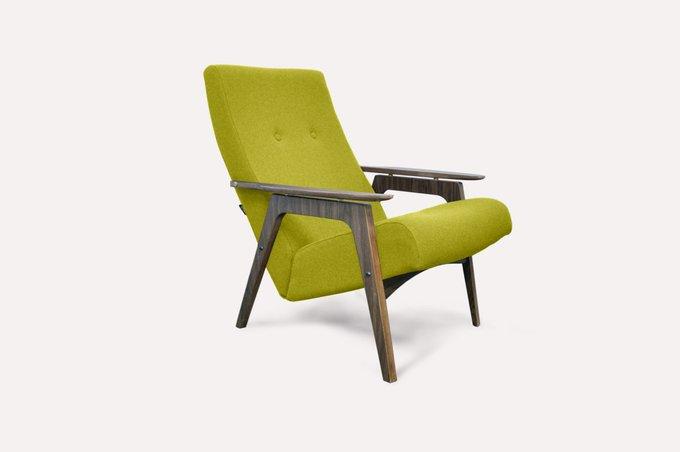 Кресло Каллисто оливкового цвета