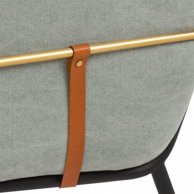 Кресло Valet Club серого цвета