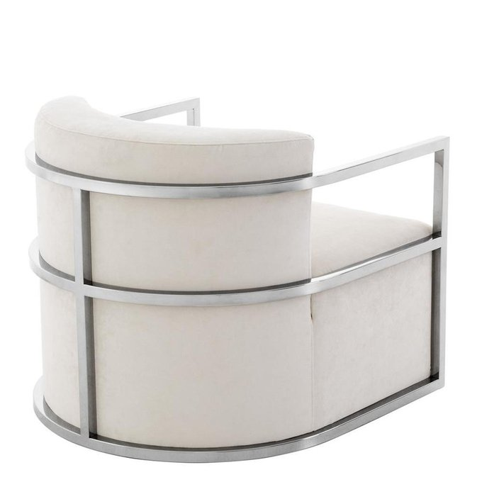 Кресло Emilio белого цвета