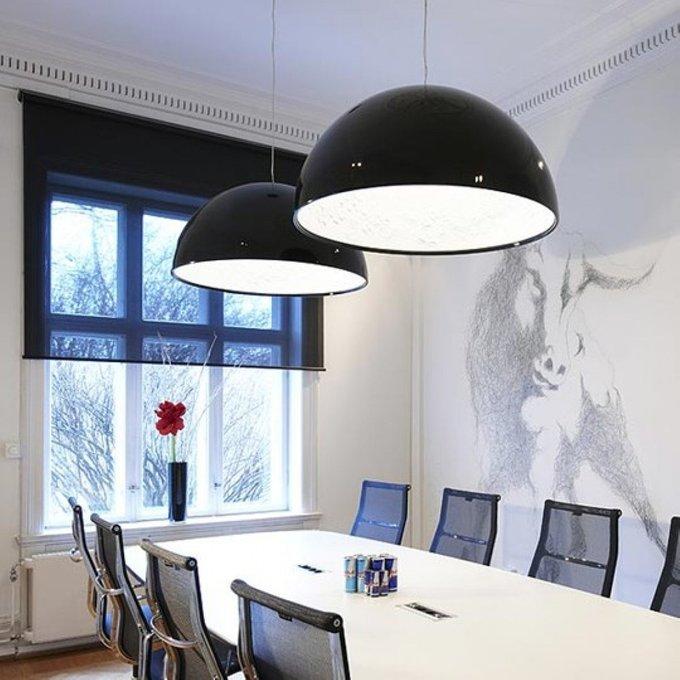 Подвесной дизайнерский светильник Skygarden black