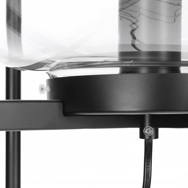 Напольный светильник Dalma с прозрачным плафоном