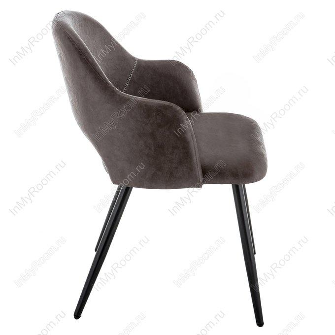 Обеденный стул Konor коричневого цвета
