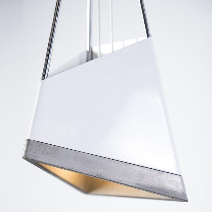 Подвесной светильник Chamfer из бетона и металла