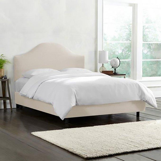 Кровать Libby Beige белого цвета 180х200