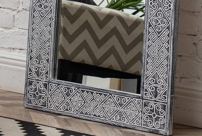 Зеркало в раме Papua Black