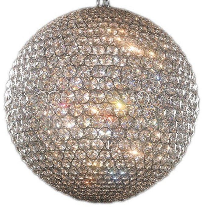 Подвесной светильник Illuminati Corso из множества прозрачных кристаллов