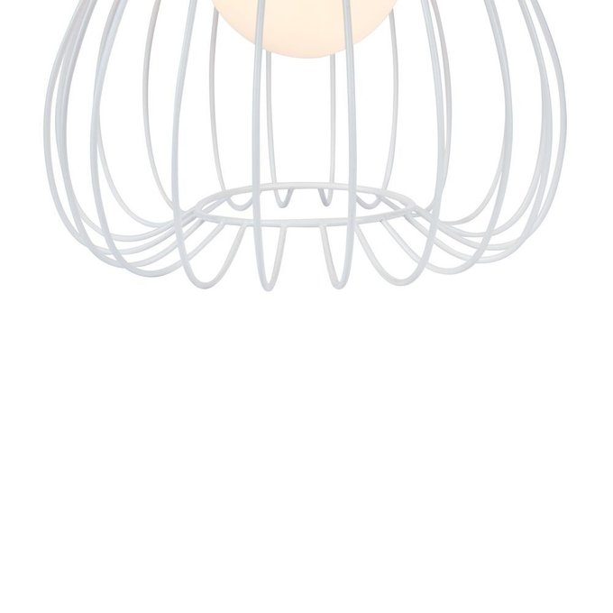 Настольная лампа Polly белого цвета