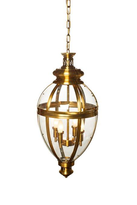 Светильник потолочный подвесной с 4-мя лампочками