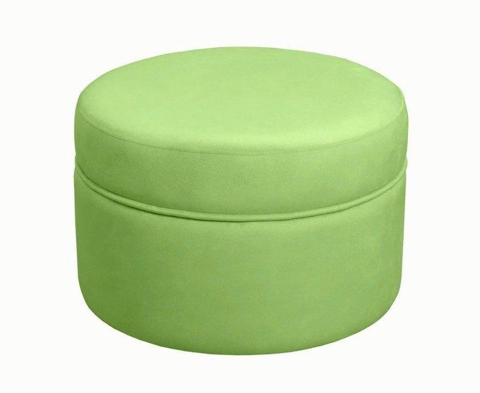 Каркасный пуфик Swede зеленого цвета