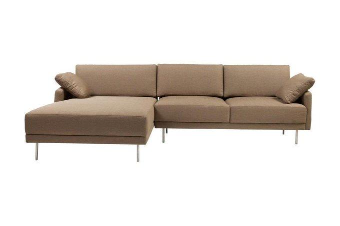 Диван Camber Sofa Sectional Left Grey-Brown