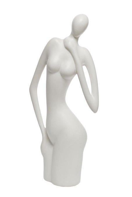 """Статуэтка из керамики """"Женщина"""" (белая)"""