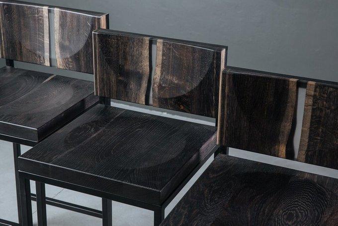 Барный стул из кавказского дуба