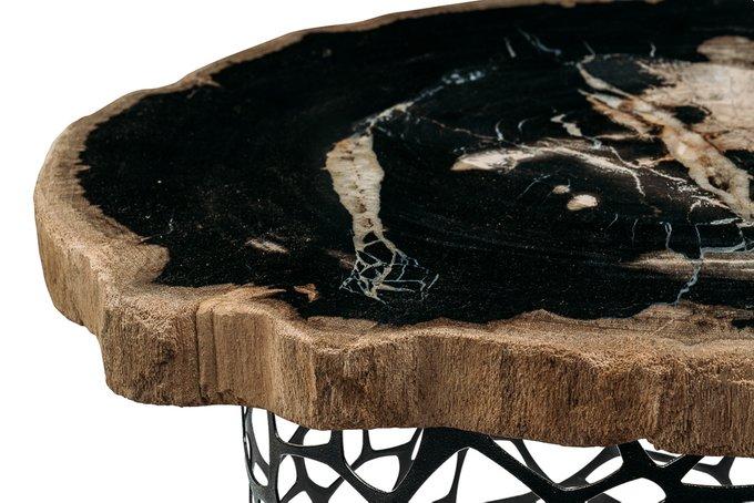 Журнальный стол Палиат из окаменелого дерева 381460