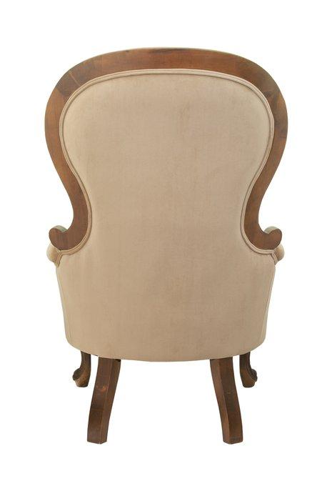 Кресло Madre light brown бежевого цвета