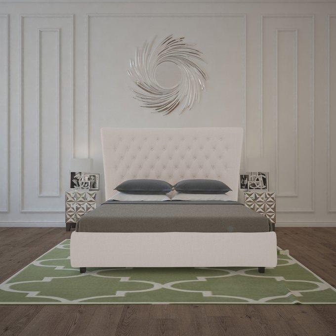 Кровать QuickSand Коричнево-Серая 180х200