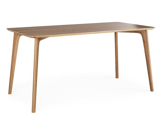 Обеденный стол IGGY из массива дуба со столешницей из шпона дуба