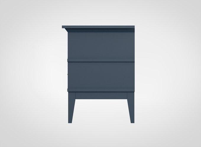 Тумба прикроватная Manhattan серо-синего цвета