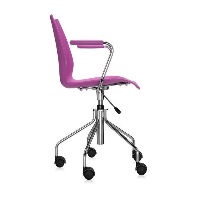 Офисный стул Maui цвета фуксия