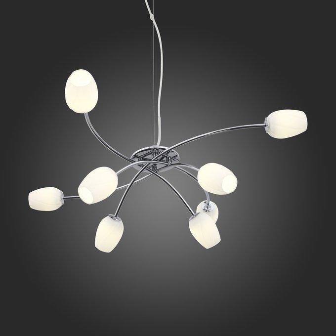 Подвесная светодиодная люстра ST Luce Luna в стиле Хай-Тек