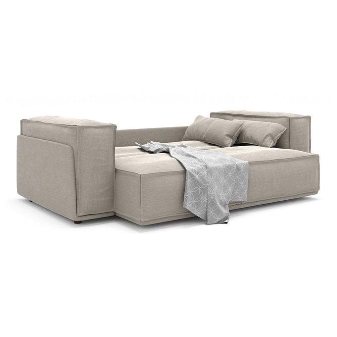Диван-кровать Vento Classic long двухместный серого цвета