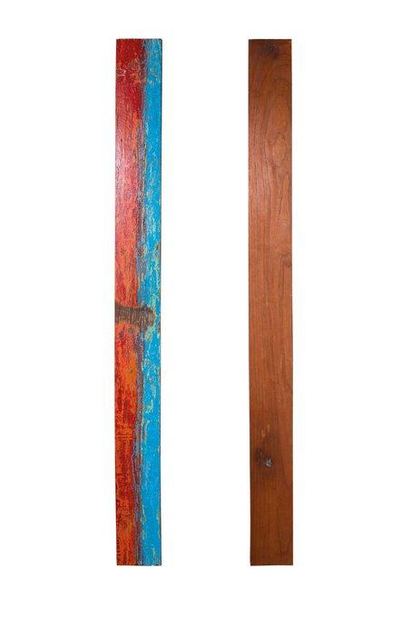 Доска корабельного борта из ценных твердых пород древесины